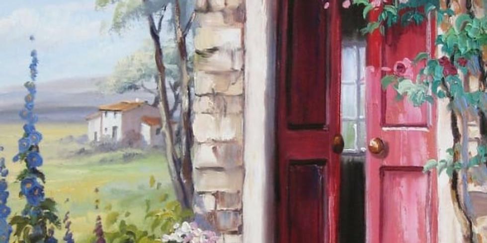 Online - Acrylic on Canvas (Landscape)