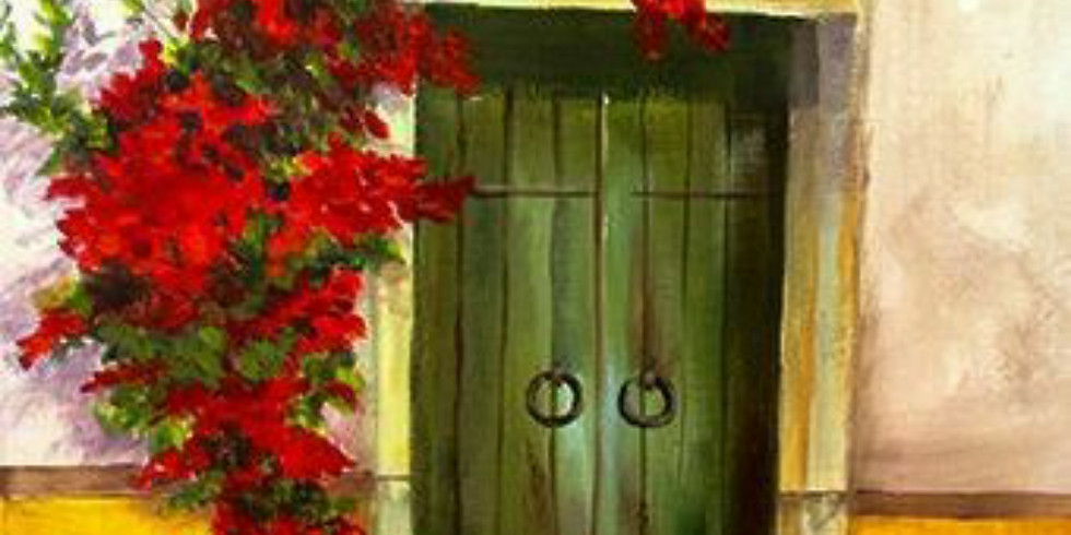 Online - Acrylic on Canvas (Sunday)