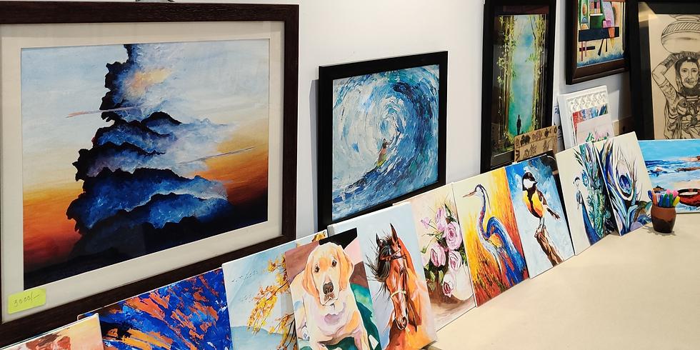 Acrylic Painting Workshop - Sunday Studio