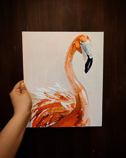 Flamboyant (Knife Painting)