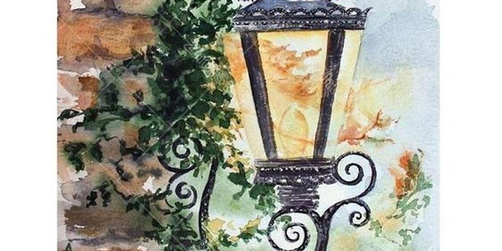 Online - Acrylic on Canvas (Evening Batch)