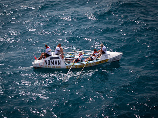 NOMAN Barcelona - Ibiza Race to End HPV 2019 Aereal