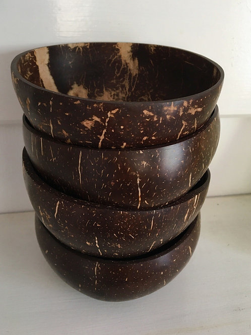 4 Coconut Bowl Pack