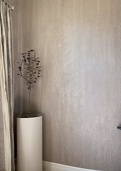 A texture like that of water cascading down a wall.  Champagne in color