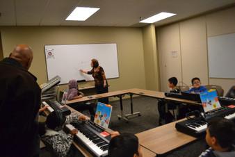 Music Key board class Perris