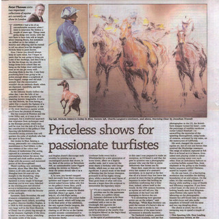An Article in the Racing Post 2010