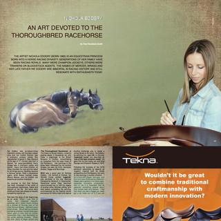 An Article in Horse Times Egypt Magazine 2017