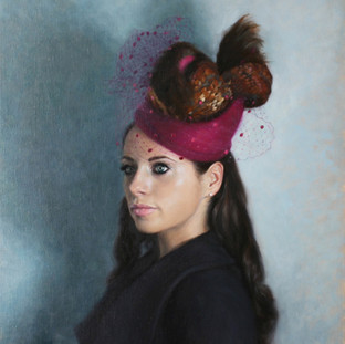 The Girl in the Pink Winter Hat