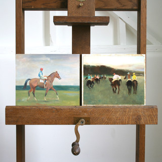 After Munnings and Degas