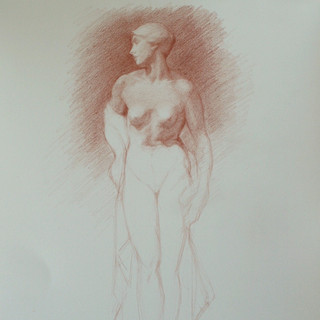 Study of The Bather, V&A