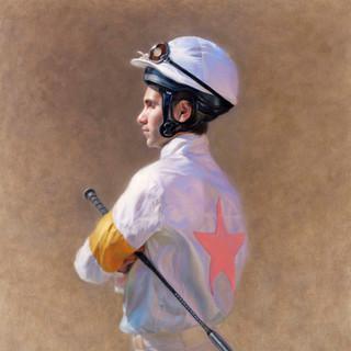 Jockey in Silks
