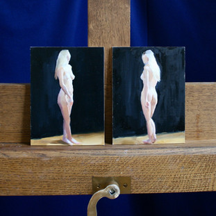 8 x 6 ins Nude Studies
