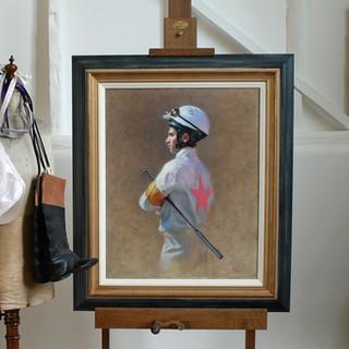 Jockey Portrait and Props