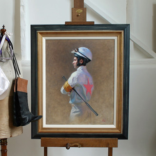 Jockey Portrait and Props