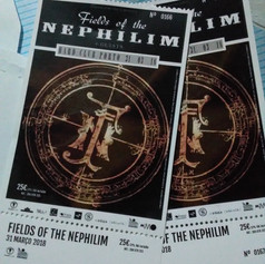 Fields of The Nephilim @ Hard Club Porto
