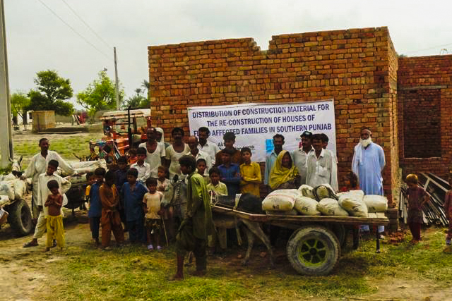 Projects for the Flood Victims