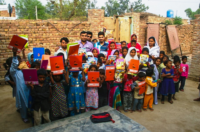Books for the Laborer Kids