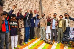 Pastors Meeting in a Village