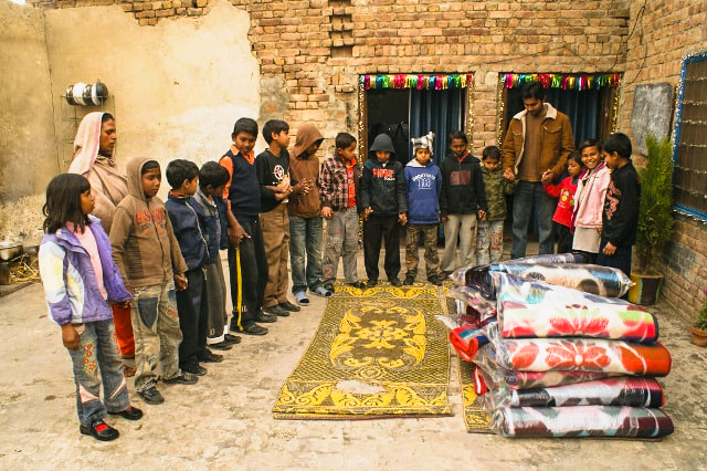 Monthly Supplies for Orphan Kids