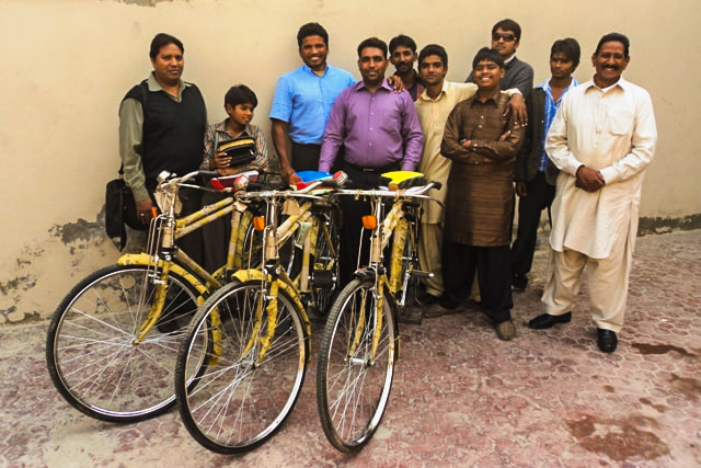 Equipping Pastors with Bikes