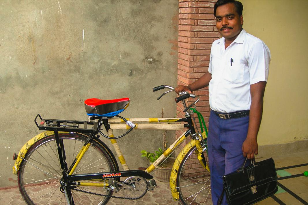 Bike for a Native Pastor