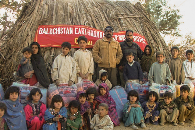 Earthquake Relief for Balochistan