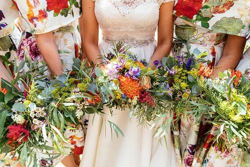 wedding florist in devon