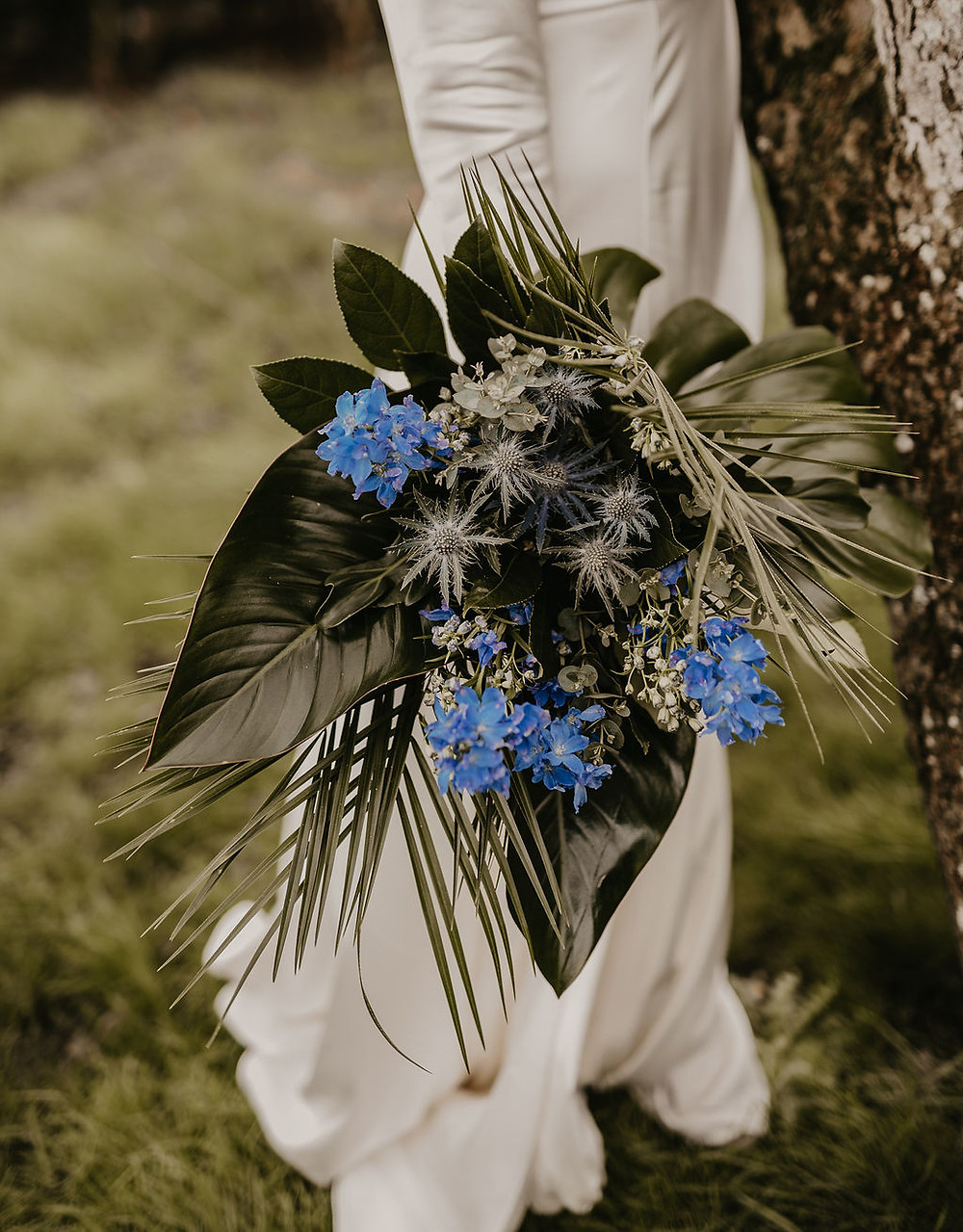 Tropical Bridal Bouquet Somerset