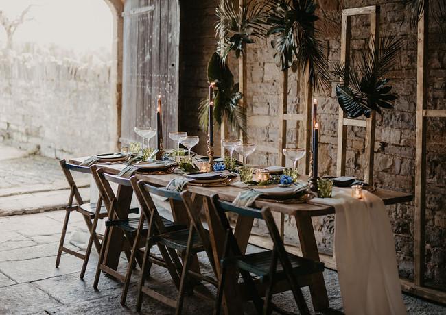 Dorset wedding florist