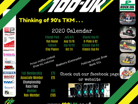 Updated 2020 Calendar