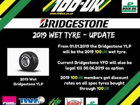 2019 Wet Tyre Update