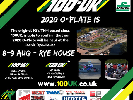 2020 O-Plate Confirmed