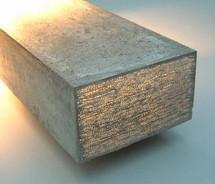 Новинки рынка строительных материалов: прозрачный бетон