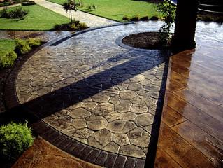 Декоративный бетон. Производство и применение