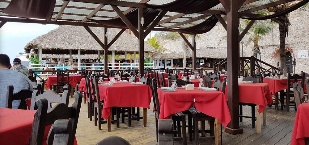 Perla Del Mar Restaurant in Punda, Curaçao