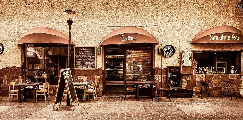 La Boheme Restaurant in Punda, Curaçao