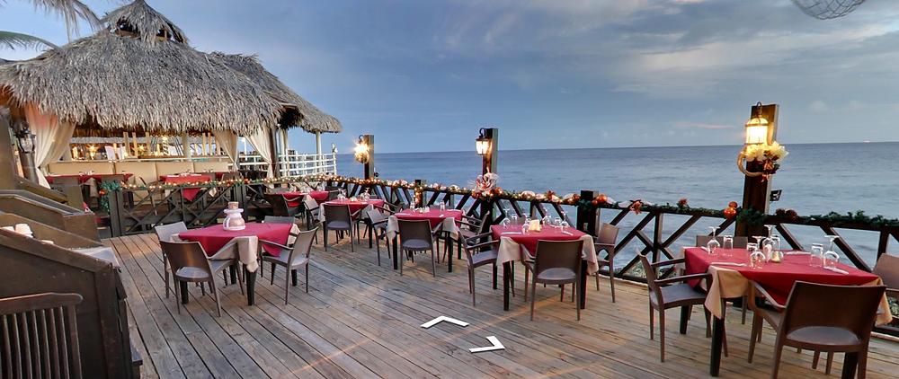 Scampi's Restaurant in Punda, Curaçao
