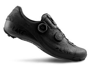 LAKE cx402 black shoe fit, high end cycling shoes.