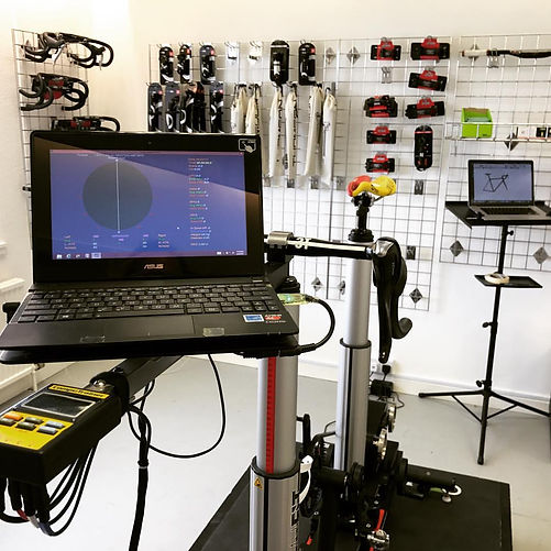 Garry Kirk Bike Fitting Purely Custom Fitbike in action. The ultimate bikefit in Scotland.