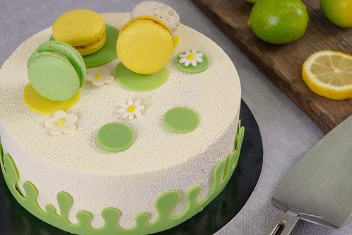 Pastel Limón-marfil
