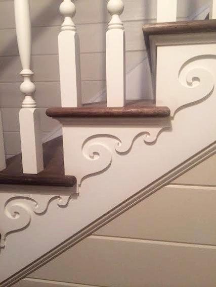 Custom stair, Saratoga Springs