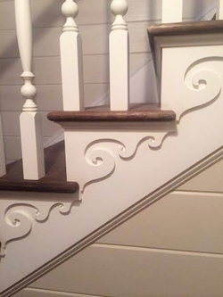 Custom stair, Saratoga Springs