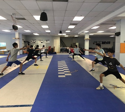 AIC Competitive Spring Break Foil Camp with coach Huang (3/29- 4/1)
