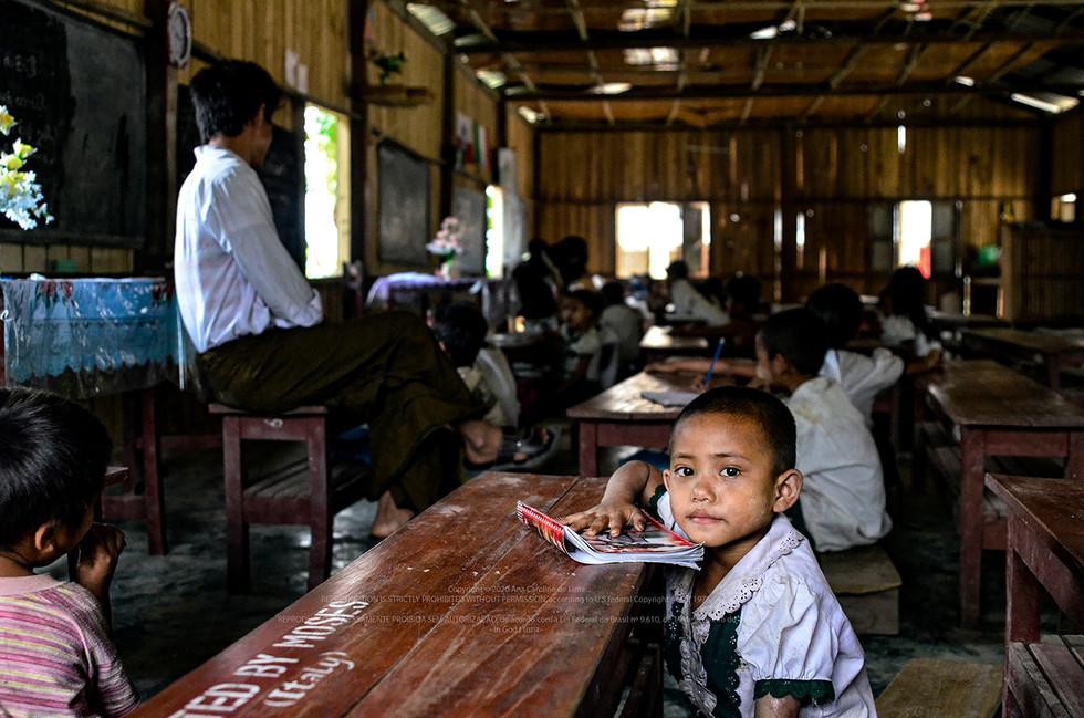 Rakhine State, Myanmar - 2015