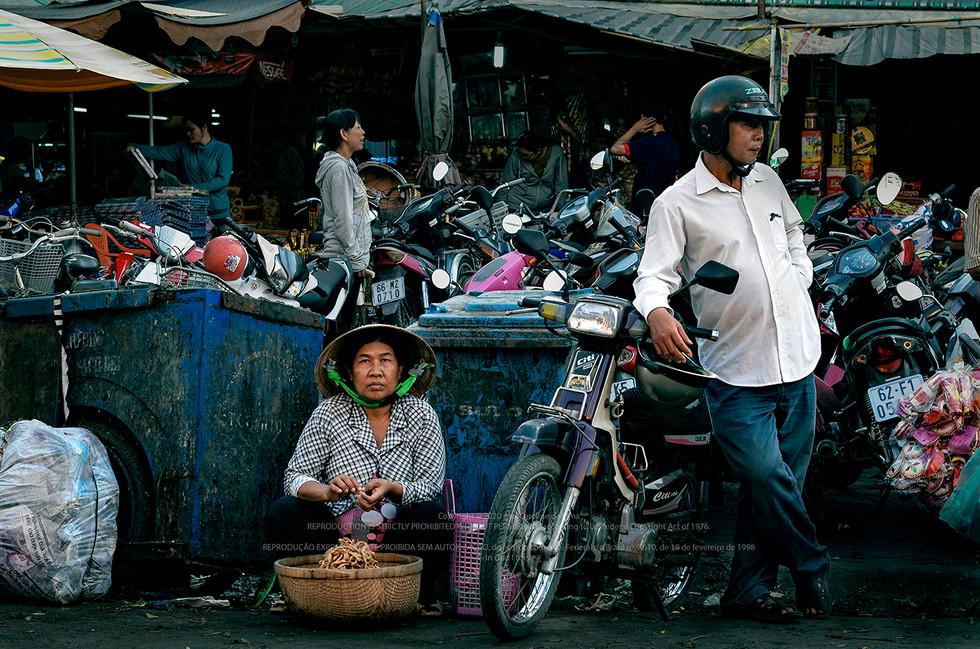 Saigon, Vietnam - 2015