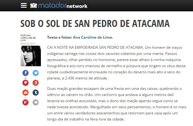 Matador Network Brasil