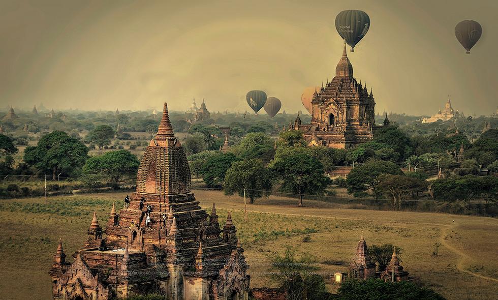 Bagan, Myanmar - 2015