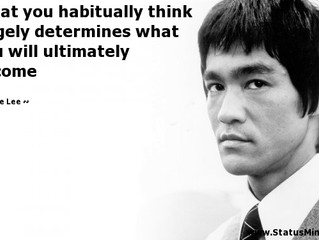 What You Habitually Think...