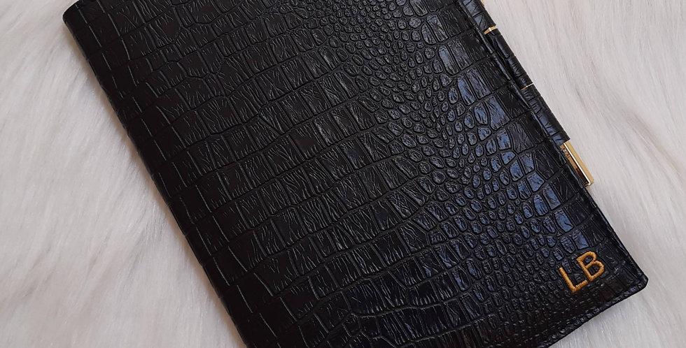 Caderno Luxo bordado