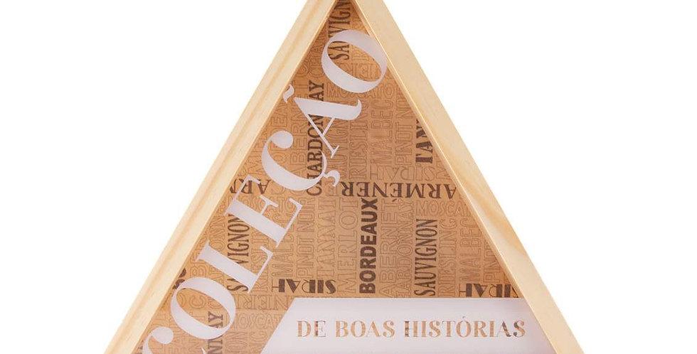 Porta Rolha Triângulo